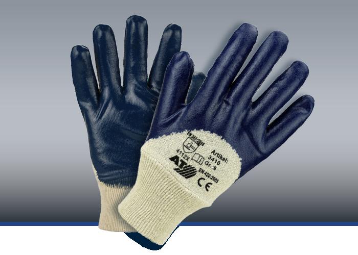 Nitril-Handschuhe, blau, #3410