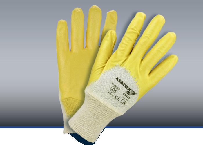 Nitril-Handschuhe, gelb, #03400